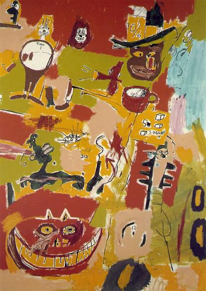 Wine of Babylon, 1984 - Jean-Michel Basquiat