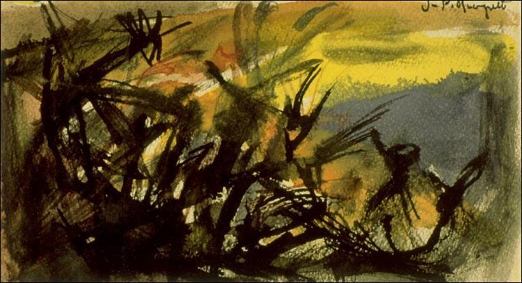 Conversation, 1946 - Jean-Paul Riopelle