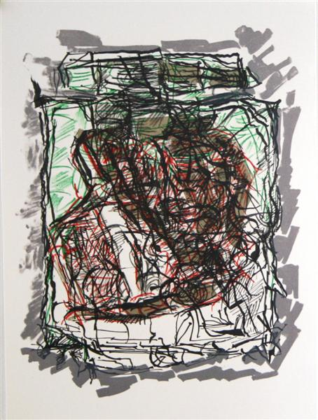 Lithographie 1976 - Jean-Paul Riopelle