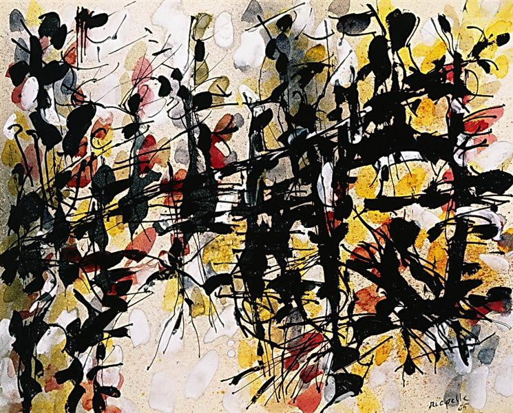 Untitled - Jean-Paul Riopelle