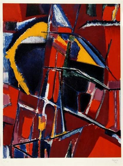 Chicago (detail), 1953 - Jean Bazaine