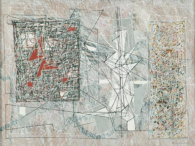 White Space, 1951 - Jimmy Ernst