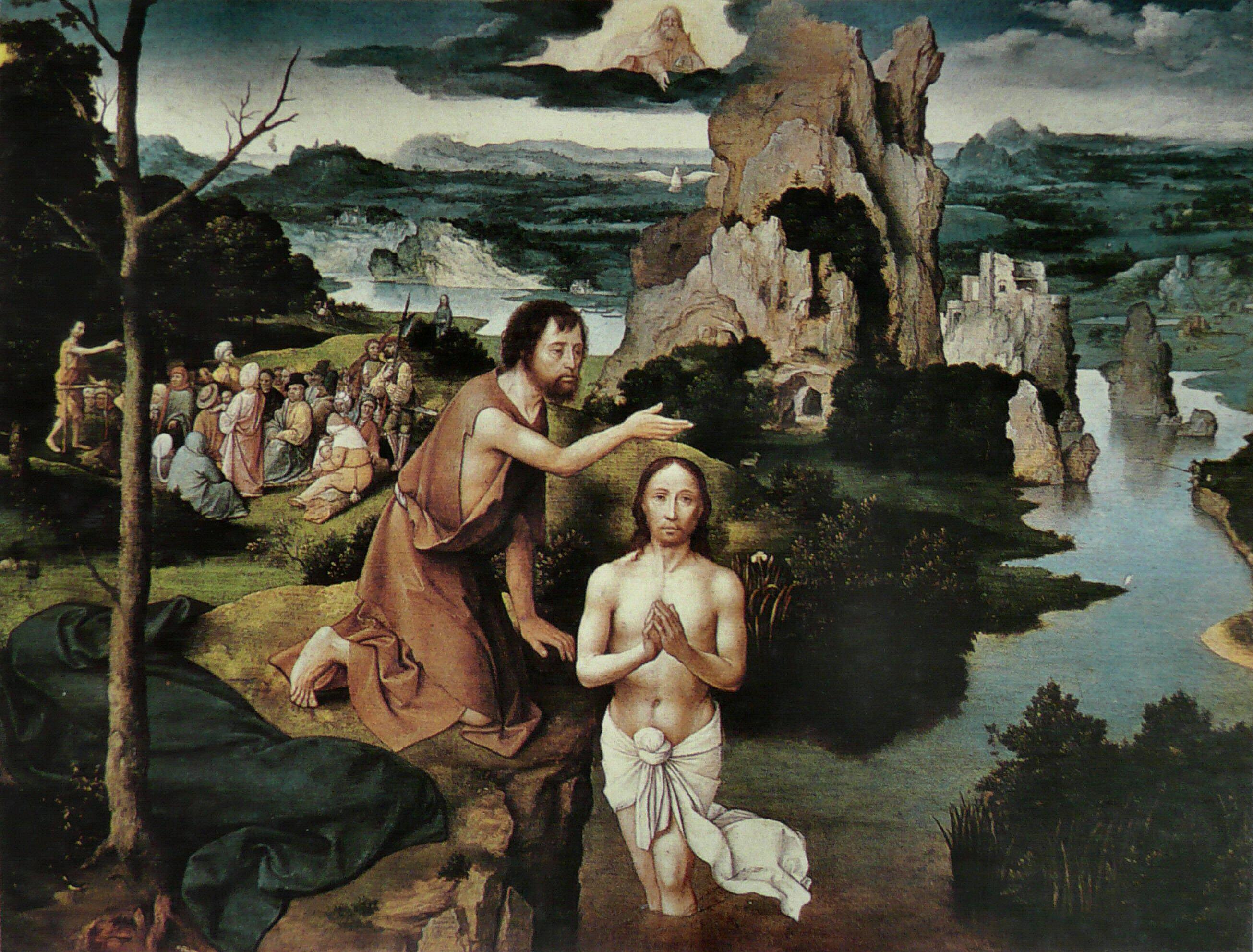 The Baptism of Christ, 1515 - Joachim Patinir - WikiArt.org