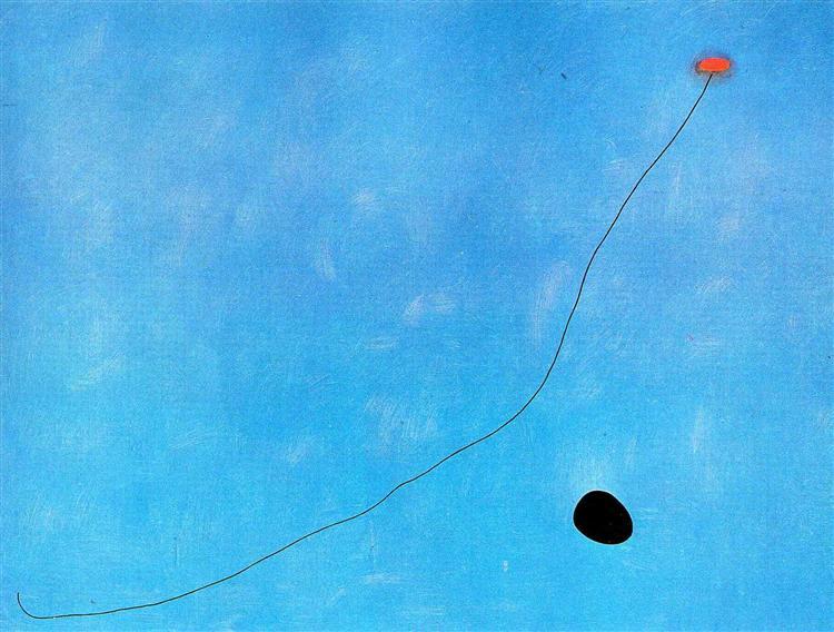 Blue III, 1961 - Joan Miro