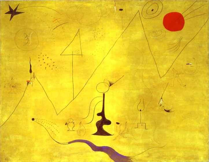 Hermitage, 1924 - Joan Miro