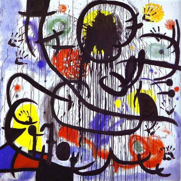 May 1968, 1968 - 1973 - Joan Miro - WikiArt.org