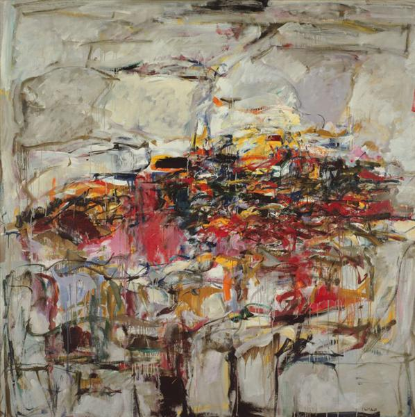 City Landscape, 1955 - Joan Mitchell