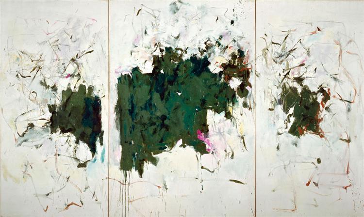 Girolata Triptych, 1964 - Джоан Митчелл