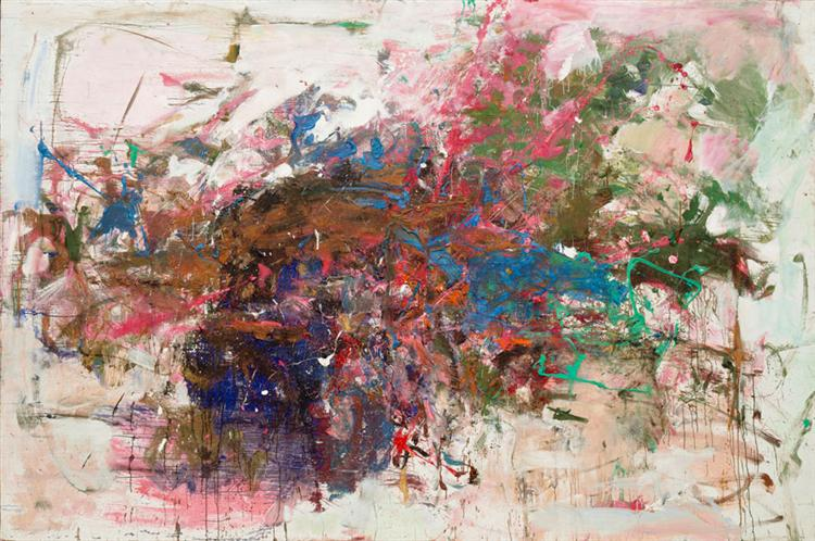 Grandes Carrières, 1962 - Joan Mitchell