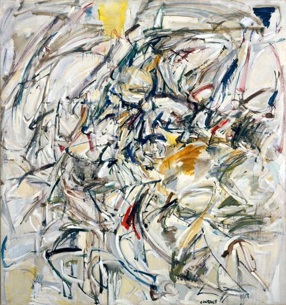 Untitled, 1953 - Joan Mitchell