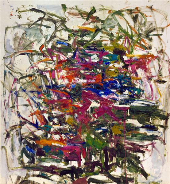 Untitled, 1957 - Joan Mitchell