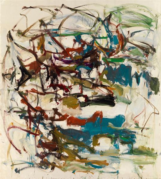 Untitled, 1958 - Joan Mitchell