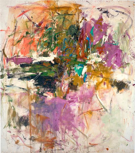 Untitled, 1961 - Joan Mitchell