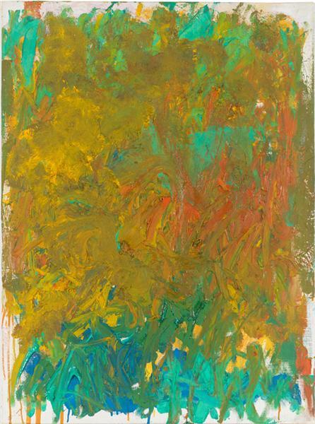 Untitled, 1981 - Joan Mitchell