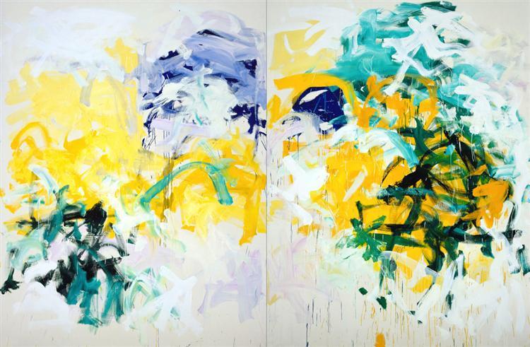 Untitled, 1987 - Joan Mitchell