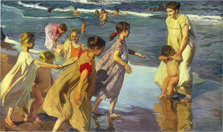 Summer, 1904 - Joaquín Sorolla