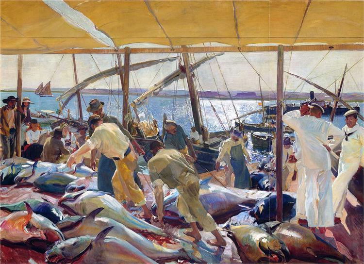 The Tunny Catch, 1919 - Joaquín Sorolla