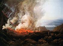 Eruption of Vesuvius - Johan Christian Clausen Dahl