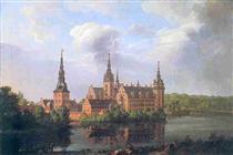 Frederiksborg Castle - Johan Christian Clausen Dahl