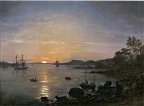 Holmestrand - Johan Christian Clausen Dahl