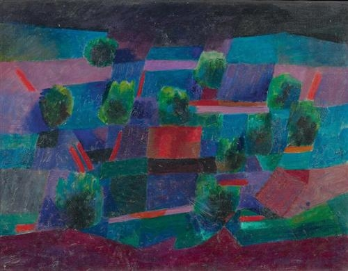 Moonlit Landscape, 1958