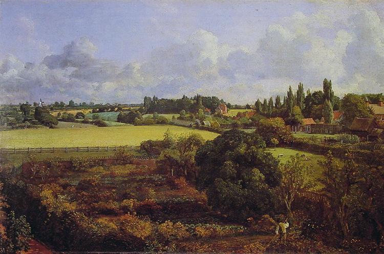 Golding Constable's Kitchen Garden, 1815 - John Constable