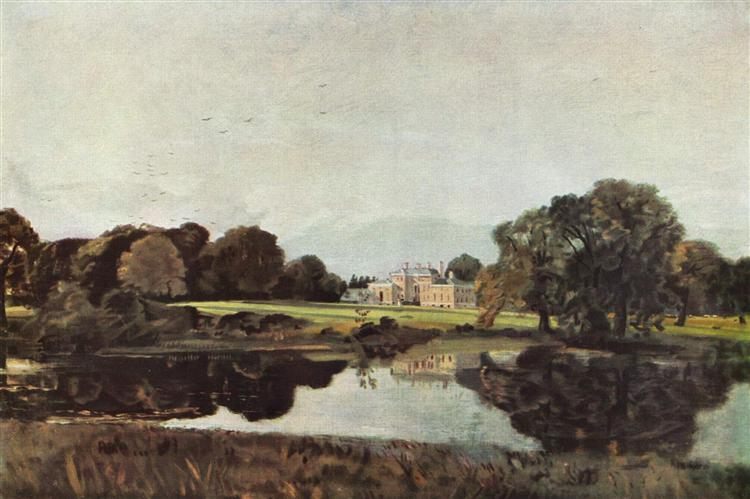 Malvern Hall, c.1821 - John Constable