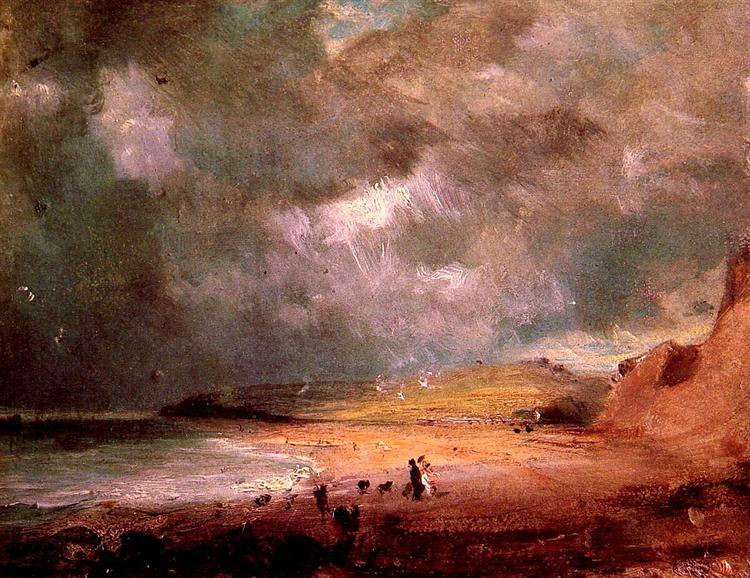 Weymouth Bay, c.1816 - Джон Констебл