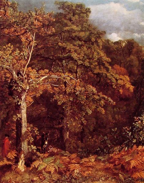 Wooded Landscape, 1801 - 1802 - John Constable