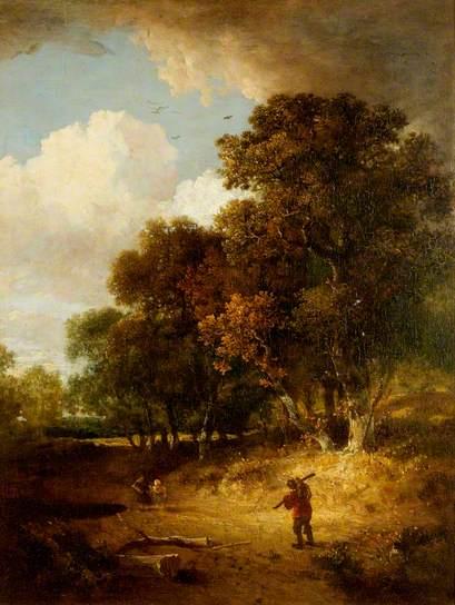 A Woody Landscape - John Crome