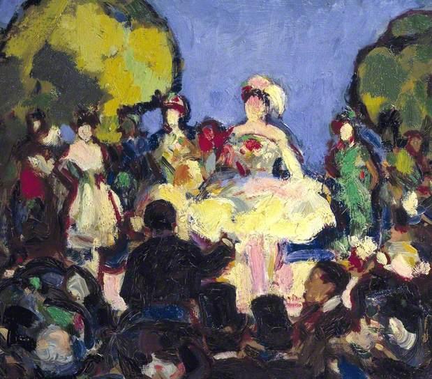 Café-Concert des Ambassadeurs, 1907 - John Duncan Fergusson