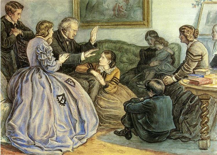 A Winter's Tale - John Everett Millais