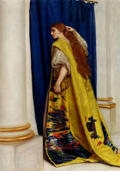 Esther, 1865 - John Everett Millais
