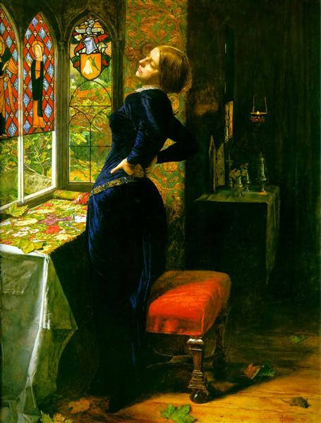 Mariana in the Moated Grange, 1851 - John Everett Millais