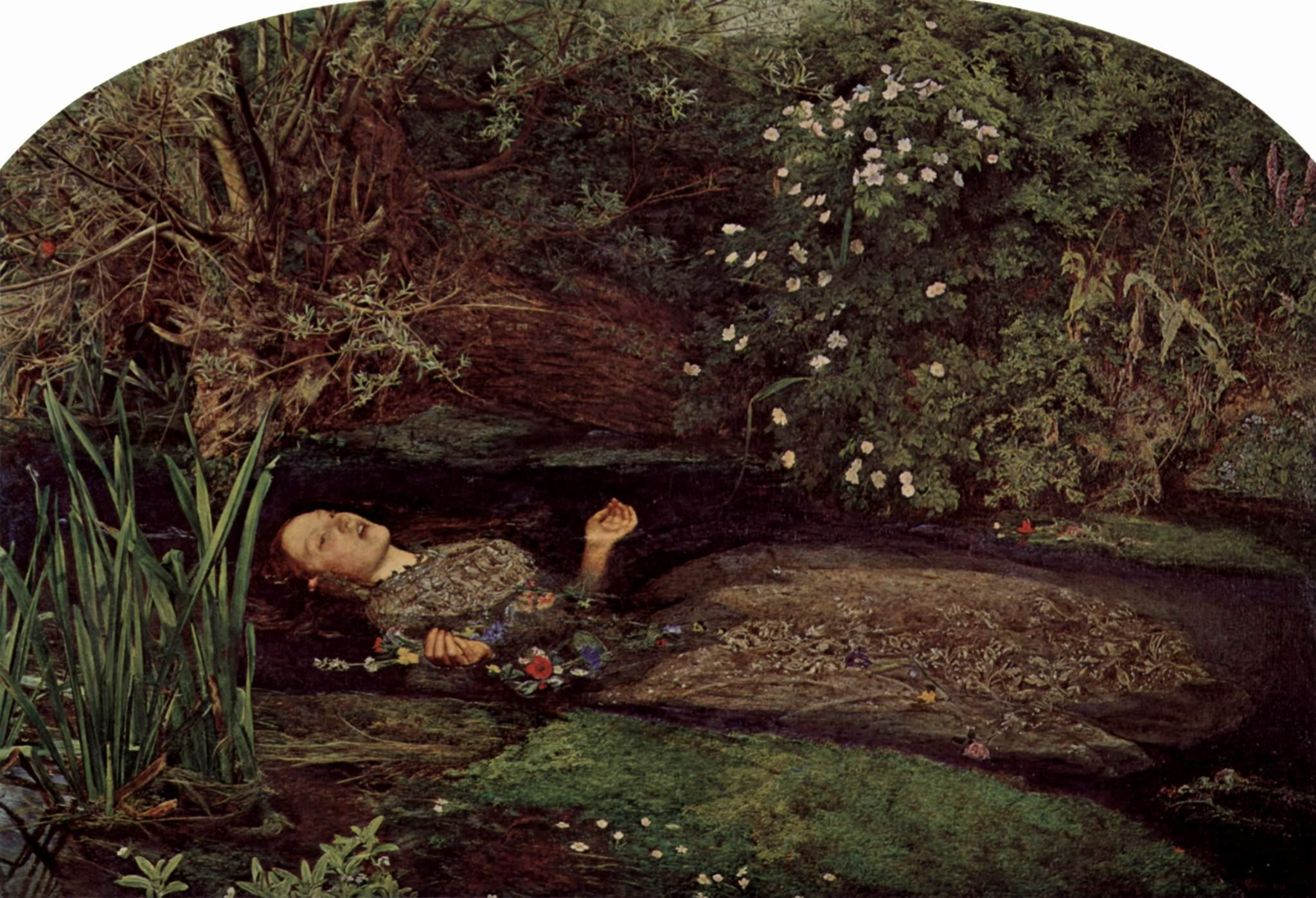 Ophelia Shakespeare: John Everett Millais