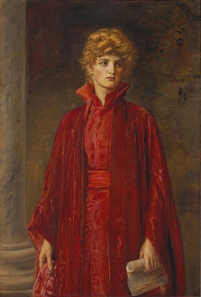 Portia - John Everett Millais