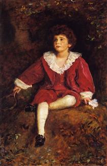 The Honourable John Nevile Manners - John Everett Millais