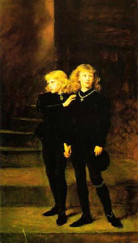 Princes In The Tower - John Everett Millais