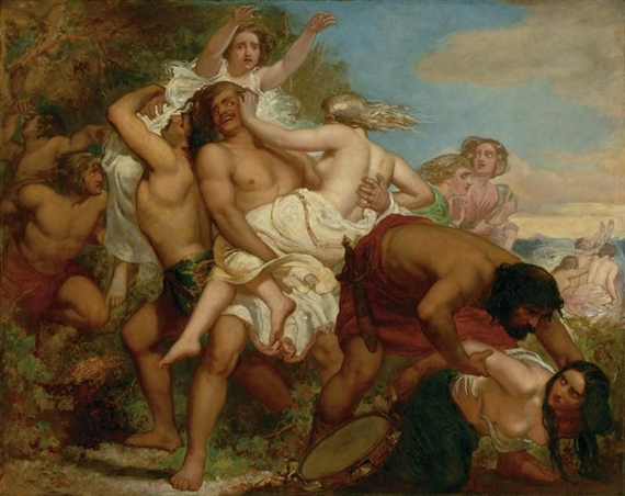The Tribe of Benjamin Seizing the Daughter of Shiloh, 1847