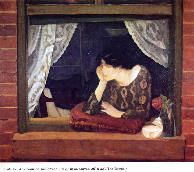 A Window on the Street, 1912 - John French Sloan