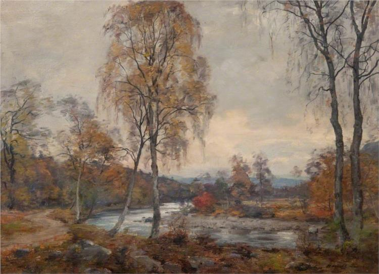 The Blairie Burn, Glen Moriston - John Henderson