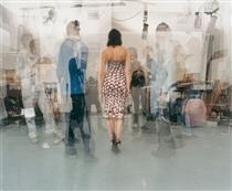The Artist Circulates - Amongst Curators, Journalists, Technicians And Her Colleagues - John Hilliard