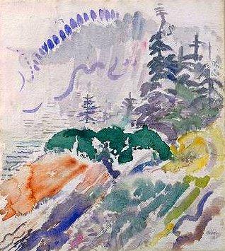 Marin Island, 1914 - John Marin