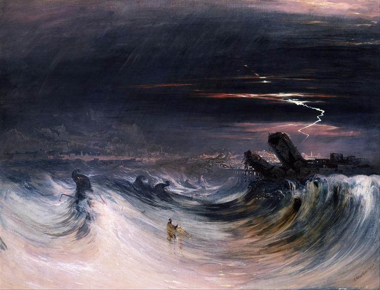 Destruction of Tyre - John Martin
