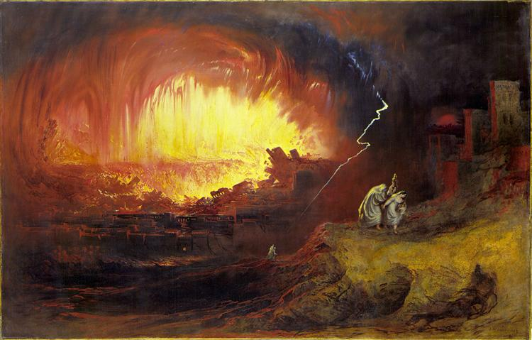 La Destruction de Sodome et Gomorrhe, 1852 - John Martin