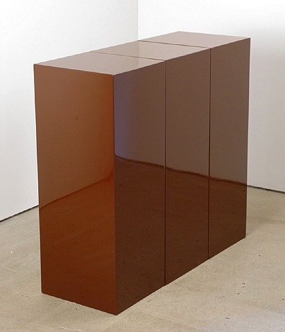 Brown Block in Three Parts, 1966 - John McCracken