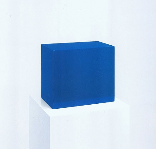 Untitled (Blue Box), 1966 - John McCracken