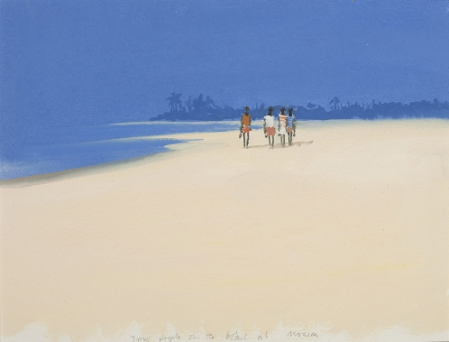 Morjim Beach, Goa - John Miller