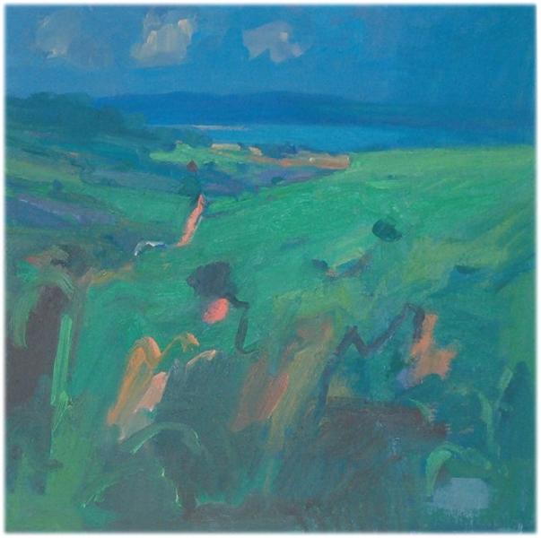 Towards the Bay - John Miller