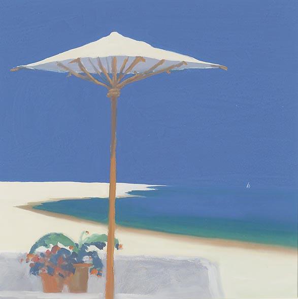 Yacht Passing the Terrace - John Miller